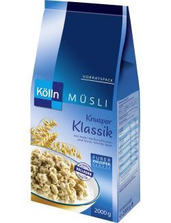 Kölln Knusper Müsli Klassik  (2 kg) - 4000540023473