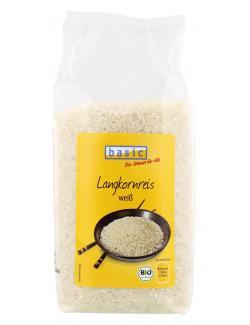 Basic Langkornreis weiß  (1 kg) - 4032914410725