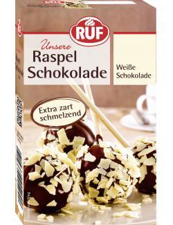 Ruf Raspel Schokolade weiß  (100 g) - 4002809004292