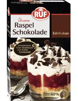 Ruf Raspel Schokolade Edelkakao  (100 g) - 4002809024023