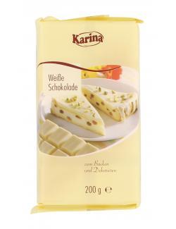 Karina Kuvertüre Weiße Schokolade  (200 g) - 4001743055810