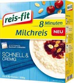 Reis-fit 8 Minuten Milchreis  (500 g) - 4006237641067