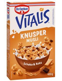 Dr. Oetker Vitalis Knusper Schoko + Keks Müsli  (450 g) - 4000521012861