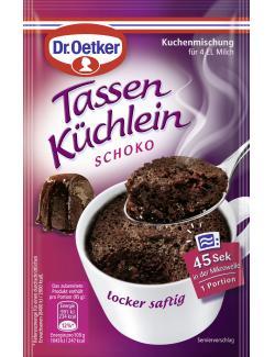 Dr. Oetker Tassen Küchlein Schoko  (55 g) - 4000521013103