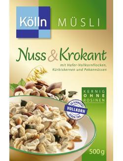 Kölln Müsli Krokant & Nussmix  (500 g) - 4000540001365