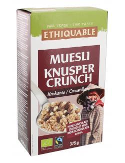 Ethiquable Müsli Knusper Crunch  (375 g) - 5420051400546