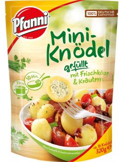 Pfanni Mini-Knödel gefüllt mit Frischkäse und Kräutern  (320 g) - 8712100739651