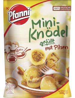 Pfanni Mini-Knödel gefüllt mit Pilzen  (320 g) - 8712100739736