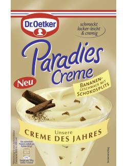 Dr. Oetker Paradies Creme Bananen-Schokosplits  (70 g) - 4000521015237