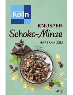 Kölln Müsli Knusper Schoko-Minze  (500 g) - 4000540003147