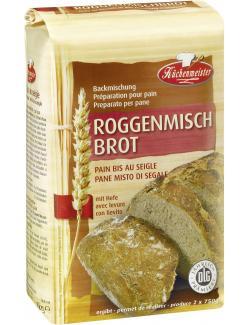 Küchenmeister Backmischung Roggenmischbrot  (500 g) - 4006363108342