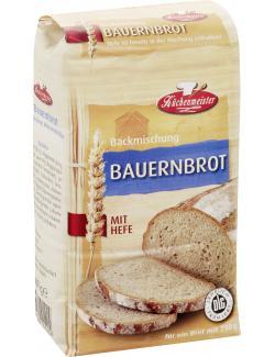 Küchenmeister Backmischung Bauernbrot  (500 g) - 4006363101404
