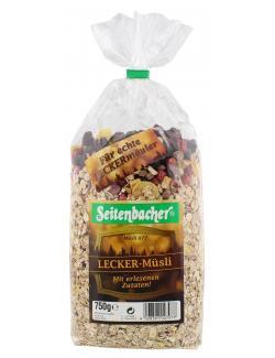 Seitenbacher Lecker-Müsli  (750 g) - 4008391027077