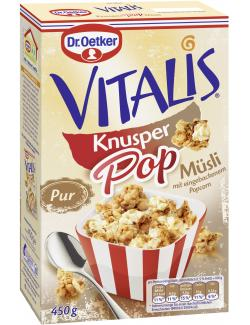 Dr. Oetker Vitalis KnusperPop Pur  (450 g) - 4000521016449