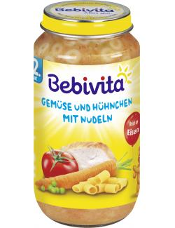 Bebivita Gemüse und Hühnchen mit Nudeln  (250 g) - 4018852105213