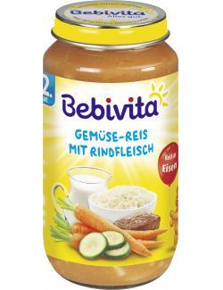 Bebivita Gemüse-Reis mit Rindfleisch  (250 g) - 4018852003748