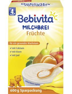 Bebivita Milchbrei Früchte  (600 g) - 4018852004349