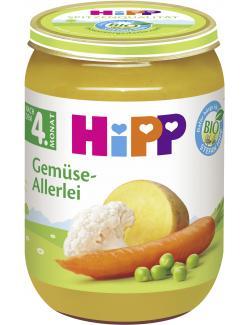 Hipp Gemüse-Allerlei  (190 g) - 4062300020313