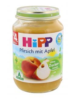 Hipp Pfirsich mit Apfel  (190 g) - 4062300027114