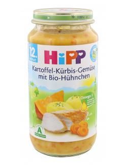 Hipp Kartoffel-Kürbis-Gemüse mit Bio-Hühnchen  (250 g) - 4062300036819