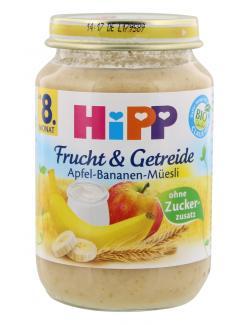 Hipp Frucht & Getreide Apfel-Banane-Müsli  (190 g) - 4062300023314
