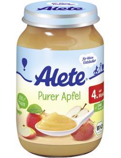 Alete Purer Apfel  (190 g) - 4005500083016
