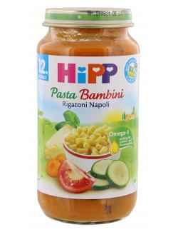 Hipp Pasta Bambini Rigatoni Napoli  (250 g) - 4062300036512