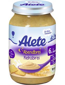Alete Abendbrei Keksbrei  (190 g) - 4005500074793