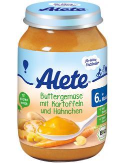 Alete Buttergemüse mit Kartoffeln & Hühnchen  (190 g) - 4005500410157