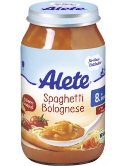 Alete Spaghetti Bolognese  (220 g) - 4005500023784