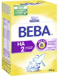 Nestlé Beba Hypoallergene Folgenahrung 2  (550 g) - 7613030589686