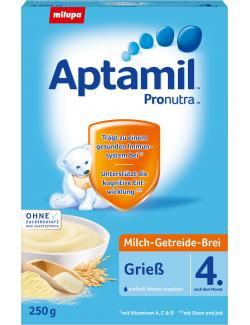 Milupa Aptamil Pronura Milch-Getreide-Brei Grieß  (250 g) - 4008976071709