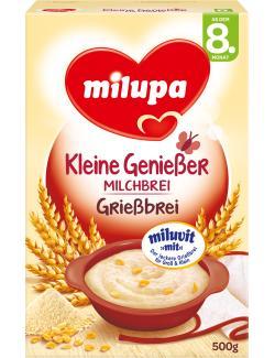 Milupa Kleine Genießer Milchbrei Grießbrei  (500 g) - 4008976071884