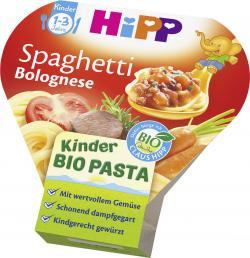 Hipp Kinder Bio Pasta Spaghetti Bolognese  (250 g) - 4062300166882
