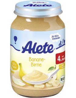 Alete Banane & Birne  (190 g) - 4251099601876