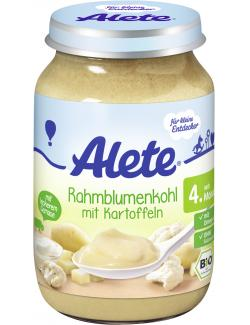 Alete Rahmblumenkohl mit Kartoffeln  (190 g) - 4251099600381
