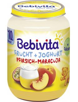 Bebivita Frucht & Joghurt Pfirsich-Maracuja  (190 g) - 4018852109211