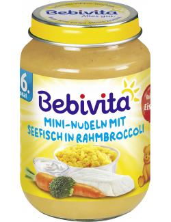 Bebivita Mini-Nudeln mit Seefisch in Rahmbroccoli  (190 g) - 4018852013990
