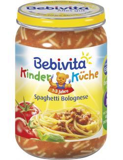 Bebivita Kinderküche Spaghetti Bolognese  (250 g) - 4018852014928