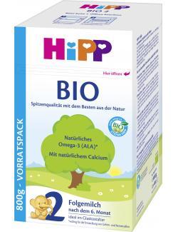 Hipp 2 Bio Folgemilch  (800 g) - 4062300001473
