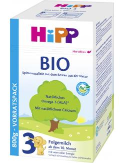 Hipp 3 Bio Folgemilch  (800 g) - 4062300001503