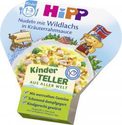 Hipp Kinder Bio Nudeln mit Wildlachs  (250 g) - 4062300208285