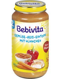 Bebivita Herzhafter Gemüse-Reis-Eintopf mit Hühnchen  (250 g) - 4018852017516