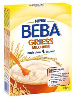 Nestlé Beba Milchbrei Grieß  (250 g) - 7613034284662