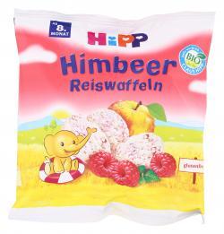 Hipp Himbeer Reiswaffeln  (30 g) - 4062300223677
