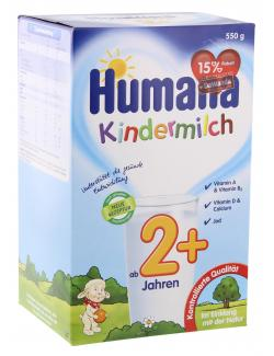 Humana Kindermilch 2+  (550 g) - 4031244780546