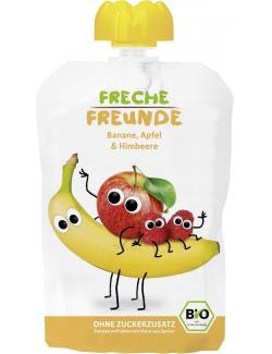 Erdbär Freche Freunde Fruchtmus Banane-Apfel-Himbeere  (100 g) - 4260249140257