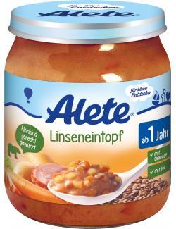 Alete Linseneintopf  (250 g) - 4251099601050