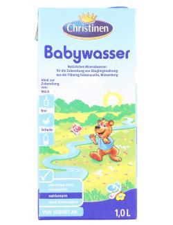 Christinen Babywasser  (1 l) - 4018755640682