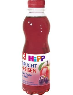 Hipp Frucht + Eisen Rote Traube in Apfel  (500 ml) - 4062300251991